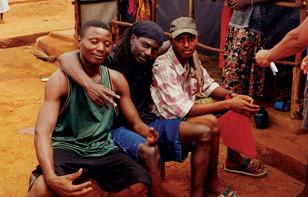 The Rascalz in Sierra Leone with amputees