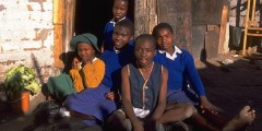victims of aids-orphans in africa