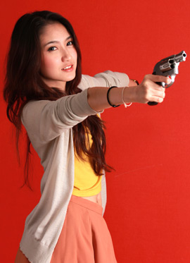 asian girl with gun life lessons
