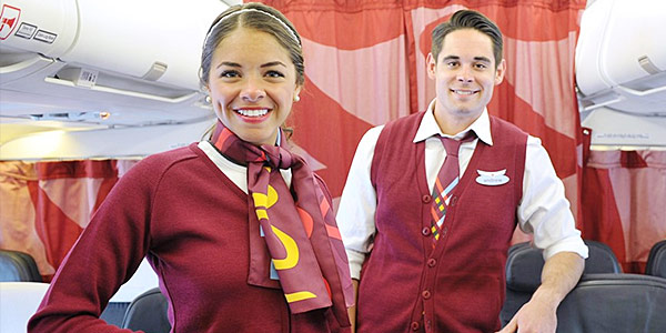 AC Rouge Flight Attendants