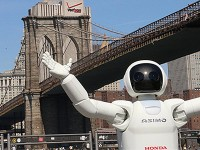 Faze Checks Out Honda's Humanoid Robot ASIMO