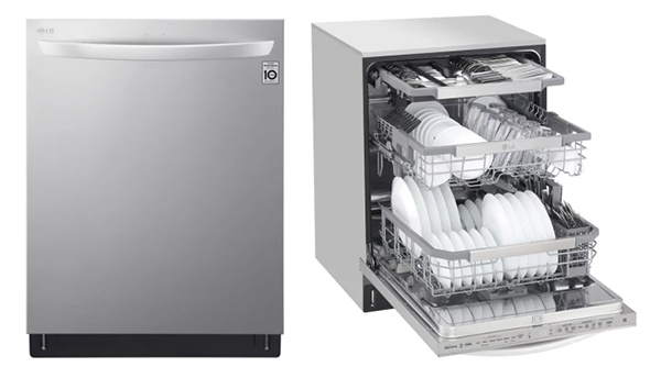 LG QuadWash Steam Dishwasher