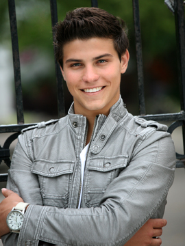 Luke Bilyk, aka Drew on Degrassi