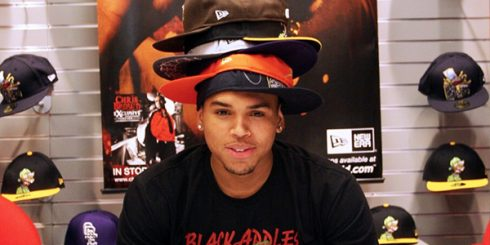 Chris Brown New Era