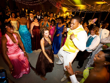 Prom Night in Mississippi Morgan Freeman Group Dance