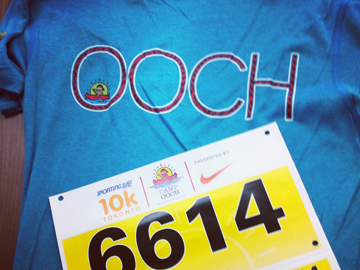 Camp Oochigeas 10 K run