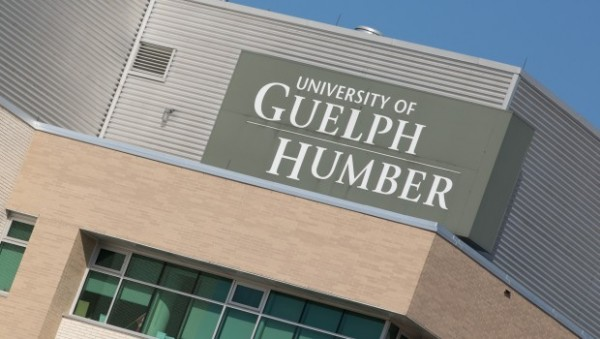 Guelph Humber building sign