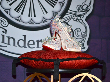Christian Louboutin Cinderella Glass Slipper