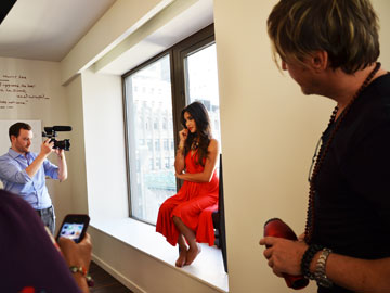 Shay Mitchell Faze Magazine Photoshoot In NYC