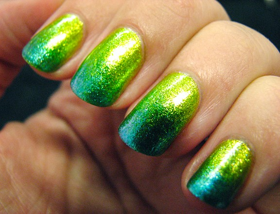St. Patty Nails Ombre