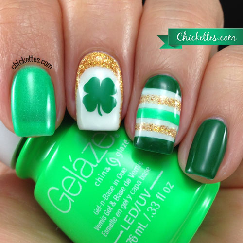 St. Patty Nail Design