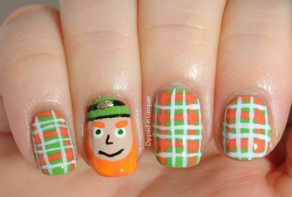St. Patty Nails leprechaun