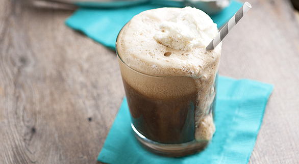 how to make ice cream soda float