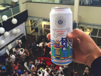 """Lululemon Is Going Bubbly With The Launch Of Their Own Beer """"Curiosity Lager"""""""