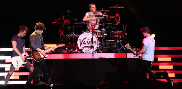 The Vamps Performing on tour