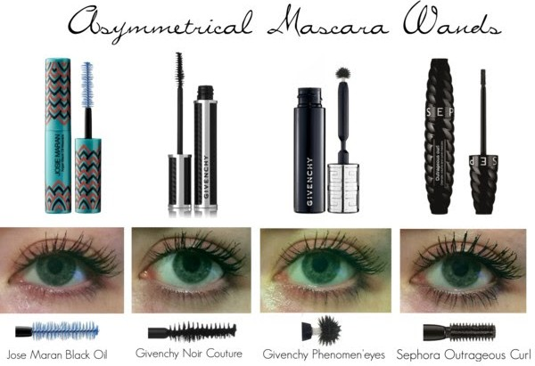 Mascara Review: Different Mascara Wands Compared