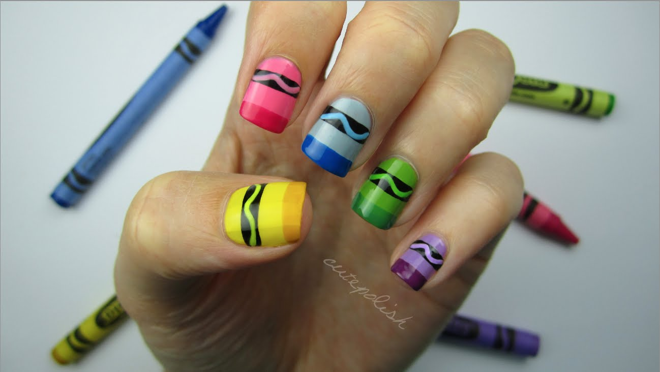 Make Going Back To School Fun With School Inspired Nail Designs Faze