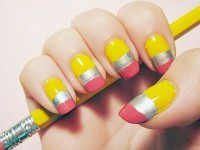Make Going Back To School Fun With School Inspired Nail Designs