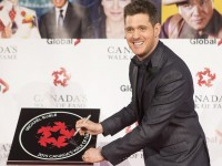 Michael Bublé Is Inducted Into Canada's Walk Of Fame