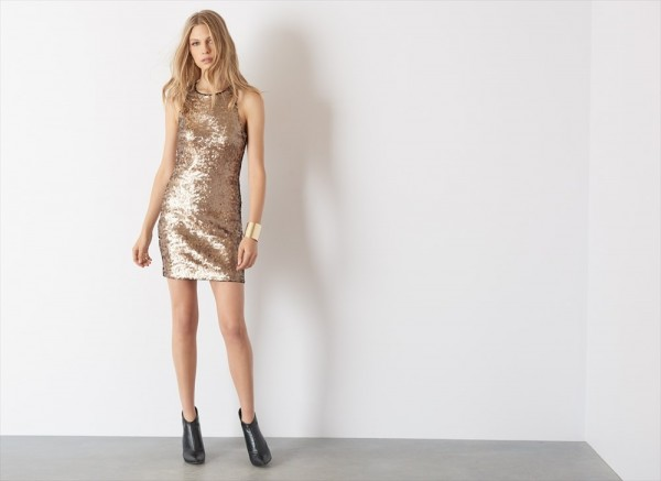 gold bodycon dynamite