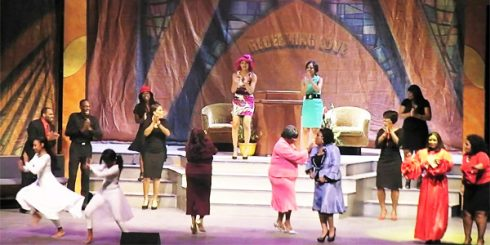 church girl stage