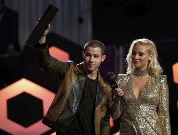 Nick Jonas Winning MMVA