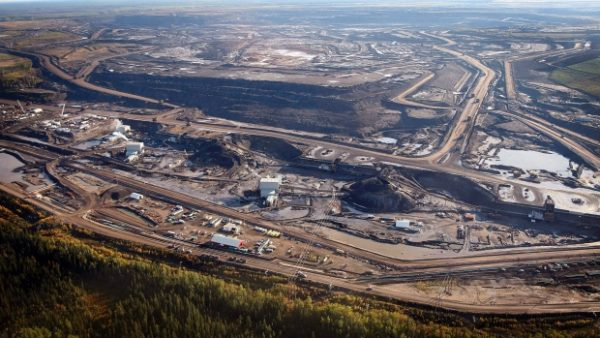 Oil Sands near Fort McMurray