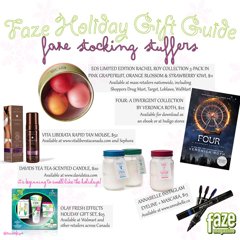 Holiday Gift Guide Stocking Stuffers Gifts