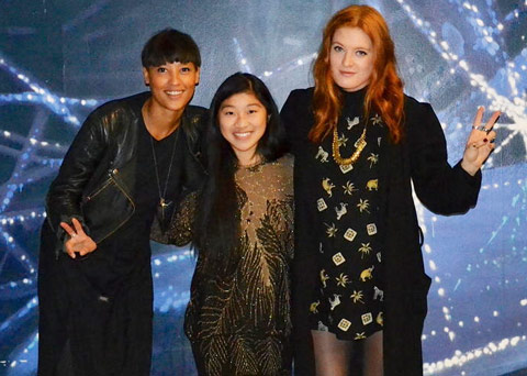 Icona Pop and Christina Dun