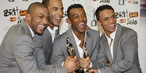 JLS win Brit Award