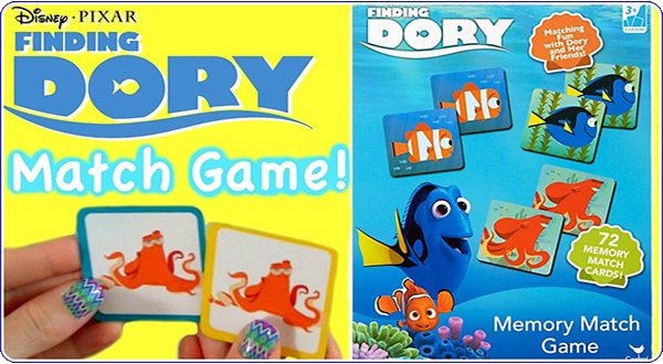 dory memory game bringing movies to life