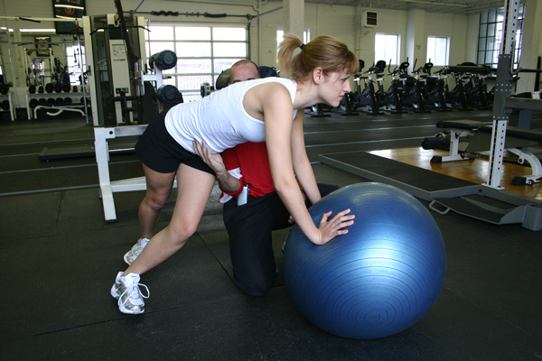 Swiss Ball Core Training Ashley Ebner