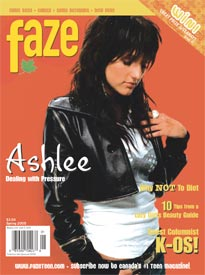 Ashlee Simpson Cover Issue 19
