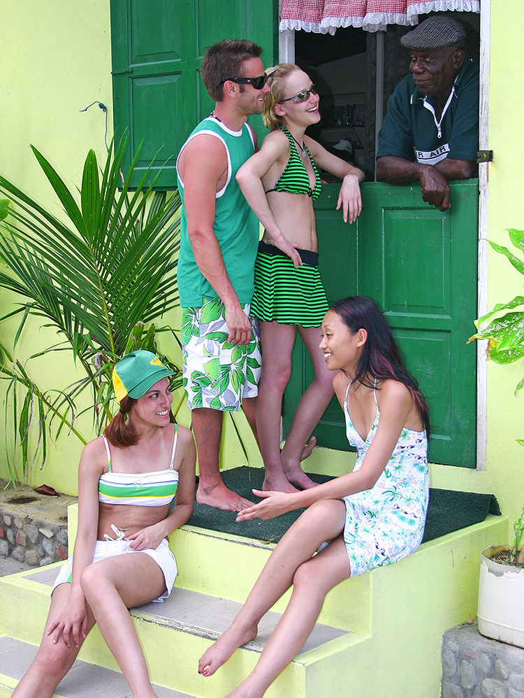 Tobago: Faze Caribbean Beachwear Photo Shoot - Store Bay
