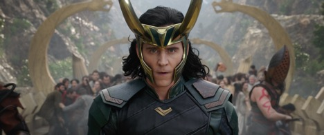 Loki (Tom Hiddleston) in Thor: Ragnarok