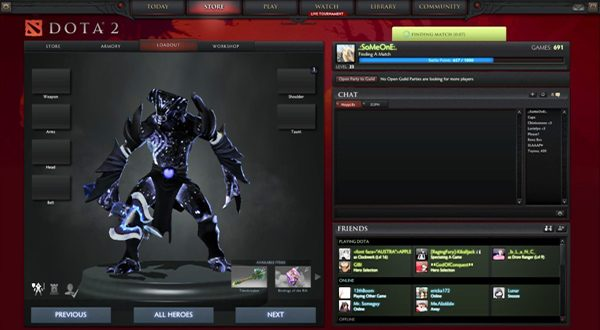 Video Gaming Skins DOTA