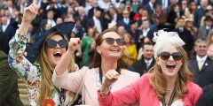 Aintree Ladies Day Horse Racing Grand National