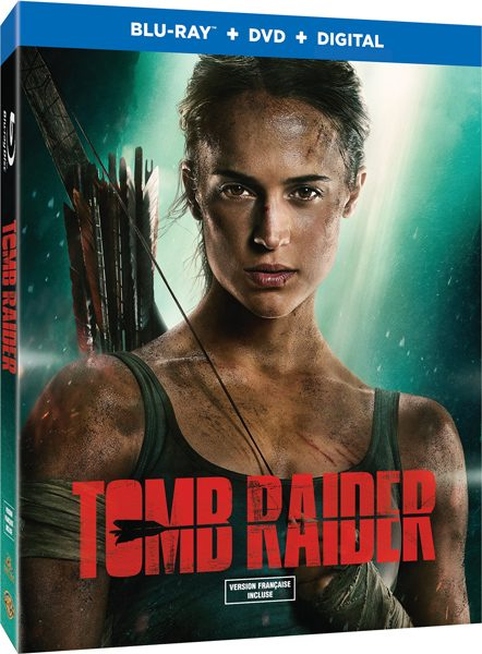 Tomb Raider Blu-Ray DVD Box