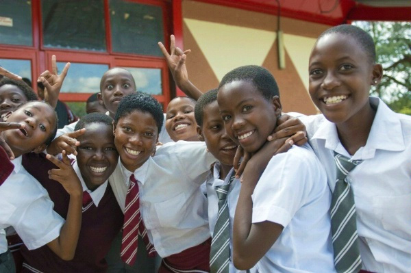 South African schoolgirls - Keeping Girls in School Programme