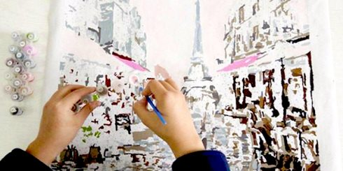 paint by numbers paris