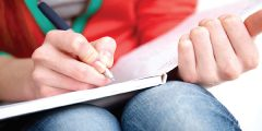 writing in notebook - your full potential